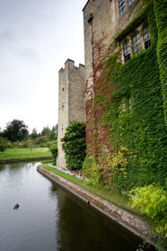 Hever castle and it's grounds