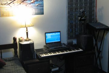 Un coin Home studio dans sa chambre