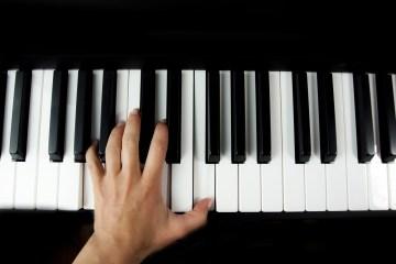 créer une mélodie au piano