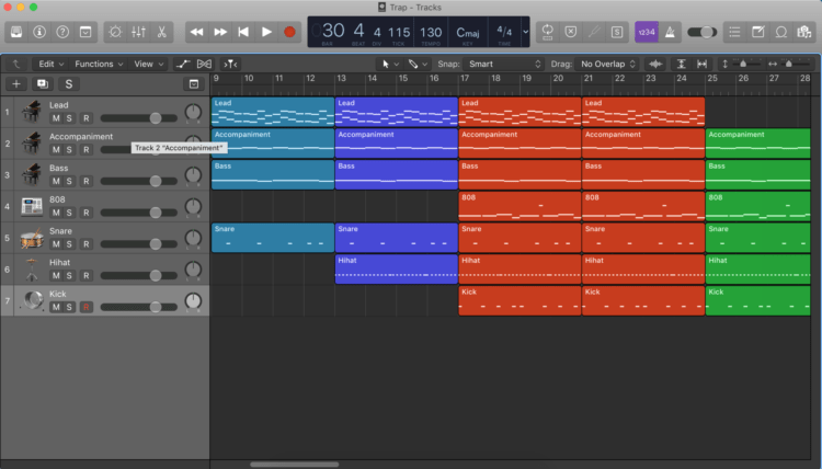 interface Logic pro x
