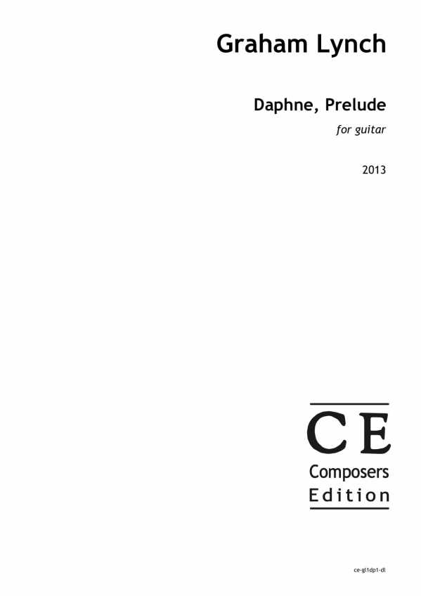 Daphne, Prelude - Composers Edition