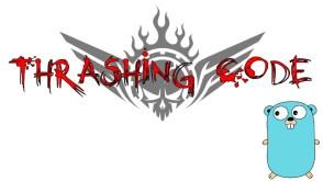 thrashing-code-gopher