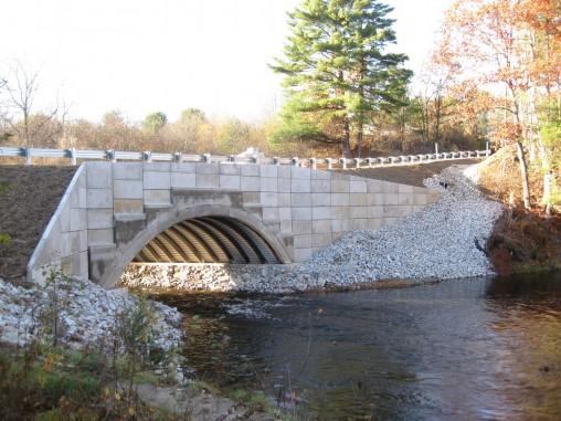 Royal River Bridge in Auburn, ME - 2010