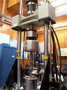 Photo of Instron 110 Kip Testing Machine