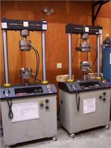Photo of Instron 22-kip Testing Machines