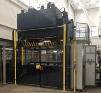 Utah Hydraulic Thermoforming Press