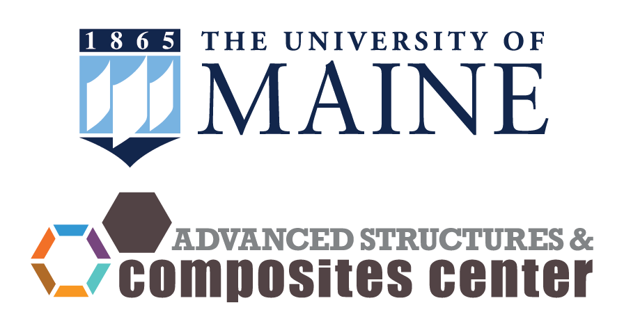 Logos for UMaine and the ASCC