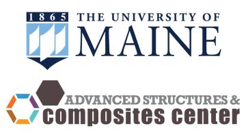 Logos for UMaine and the ASCC