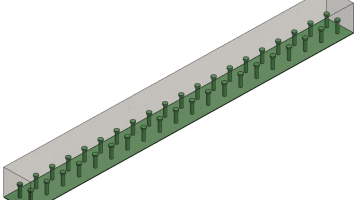 ERDC Hybrid Composite-Concrete Beam