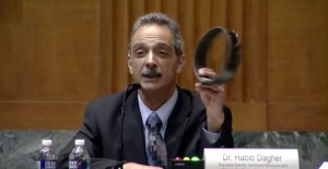 Dr. Habib Dagher's testimony before the Transportation Committee