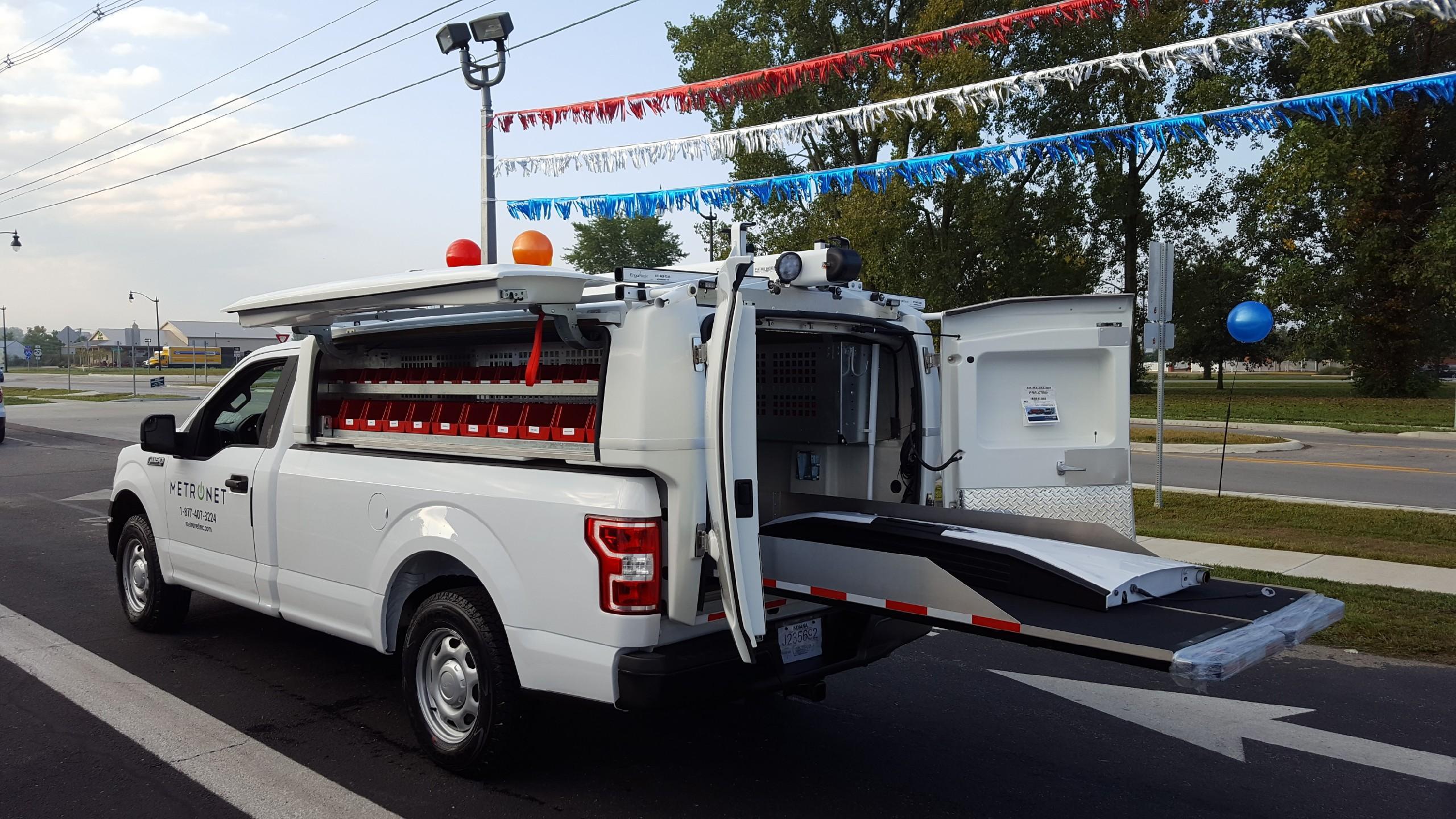 Utilities Fiberglass Truck Bodies Composite Truck Body