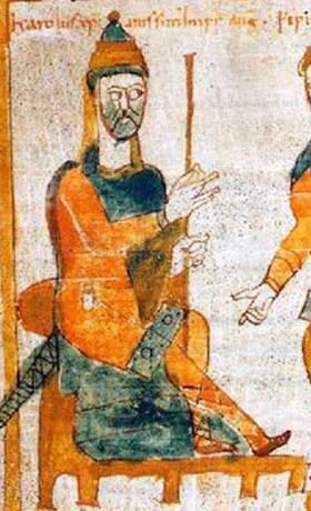 Charlemagne 10th Century Manuscript Fulda