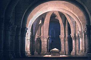 The Crypt of Saint Eutrope de Saintes
