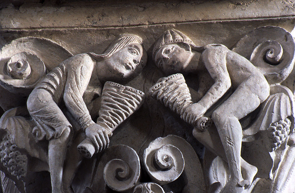 Vézelay Marie-Madeleine South Nave Capital The Spirits of the Four Winds
