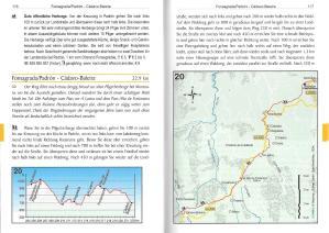 Nordspanien: Jakobsweg - Camino Primitivo - binnenbladzijden