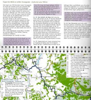 St. Jacobsfietsroute – Deel 3: Pyreneeën – Santiago – Finisterre en historische terugroute (binnenbladzijden)