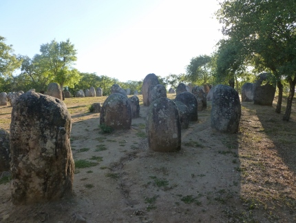 Cromeleque dos Almendres (Megaliths, 5-6,000 years old