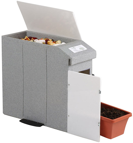 Trench Composting With Kitchen Scraps: Kitchen Composters Let You Make Compost Indoors