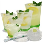 Asean Corporation Plant Based Clear Cold Cup and Lids