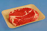 Dyne-A-Pak Nature PLA Blown, Tan Meat Trays *Not Accepted in Residential Curbside Collection