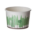 Vegware Cedar Cedar Grove Cascadia™ Soup Cups and Lids