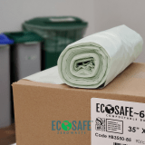 EcoSafe~6400® Compostable Bin and Cart Liners