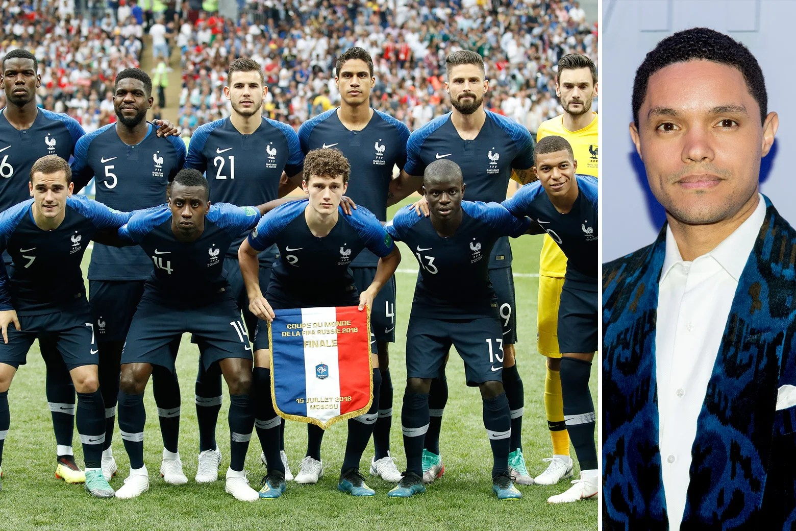 Only a true lifelong nfl fan will remember all of these logos! Trevor Noah And The French Ambassador Both Missed The Mark In Their Argument Over The World Cup Team S Africanness