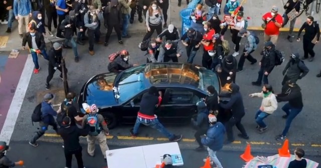 Why drivers keep ramming anti-racism protesters.