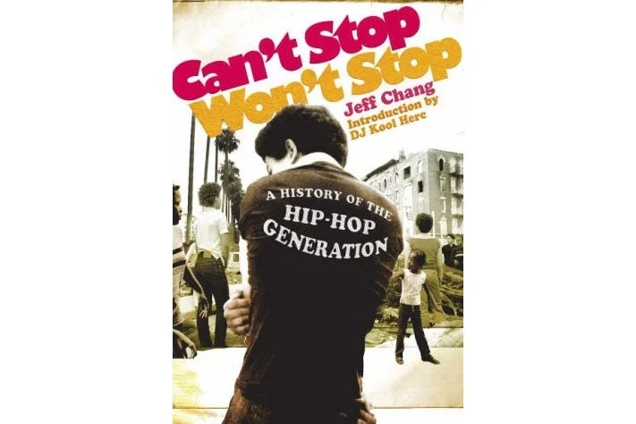 Can't Stop Won't Stop book cover.