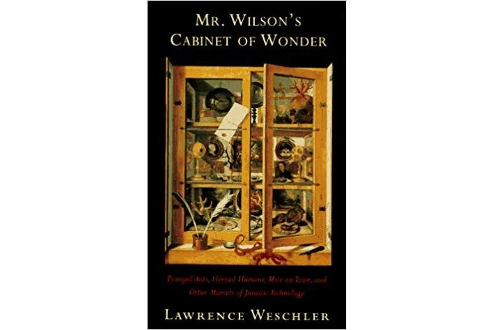 Mr. Wilson's Cabinet of Wonders book cover.
