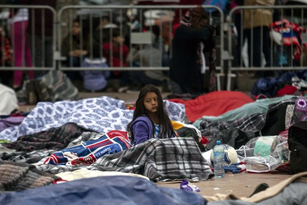 Image result for US migrant children separated
