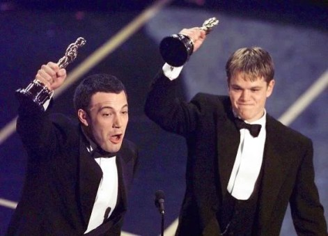 Image result for ben affleck and matt damon in good will hunting