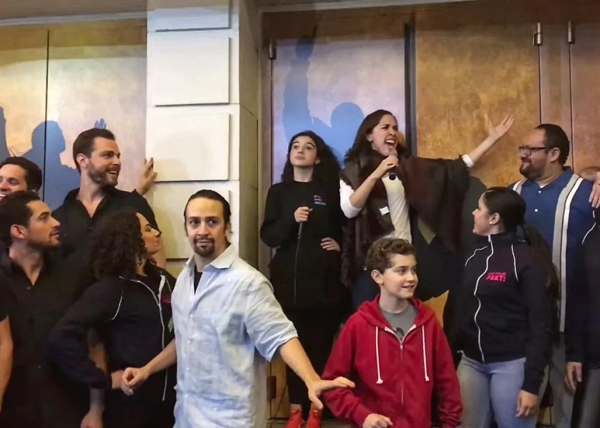 Ham4Ham: Lin-Manuel Miranda and the cast of Hamilton reward ticket ...