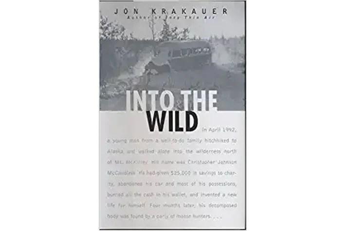 Into the Wild book cover.