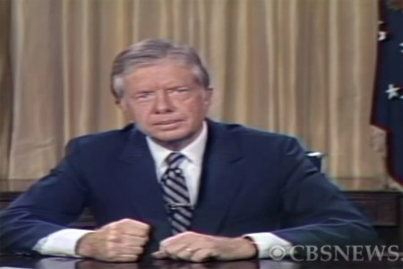 Jimmy Carter Wanted Us To Stop Climate Change.
