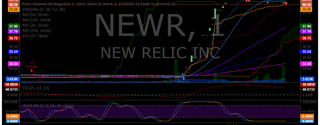 $NEWR, Stocks, Trading Plan, Premarket