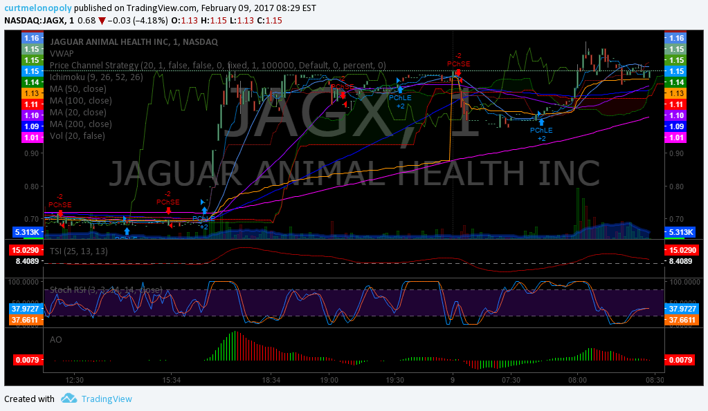 Premarket, Stocks, Trading, Plan, $JAGX