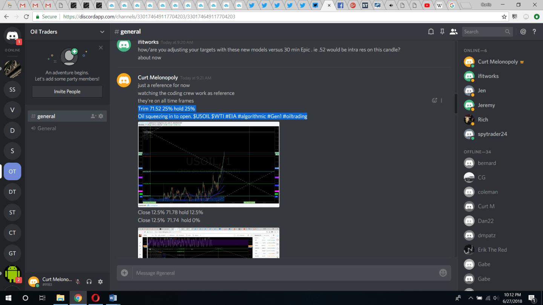 oil, trading, alert, chat, room