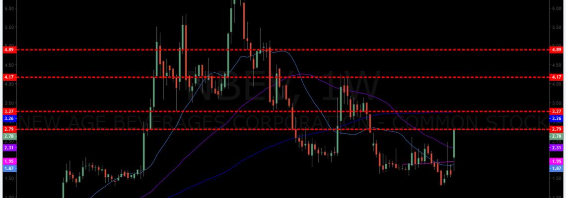 NBEV, Chart, Swingtrading, daytrade, premarket, trading plan