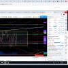 crude oil, chart, trading room, range