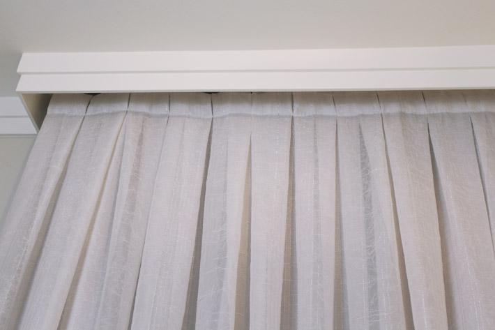 Resultado de imagem para cortina prega americana franzido embaixo
