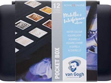 Acuarelas Metalizadas Van Gogh - Caja envuelta Frontal