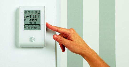 Gu a para elegir termostato digital compraralia for Termostato leroy merlin