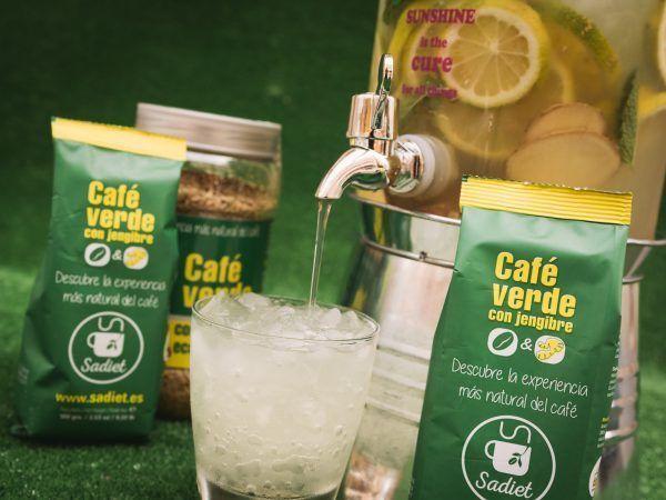 Granizado de café verde