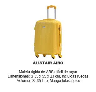 Trolley Alistair Airo ABS - maleta de cabina barata