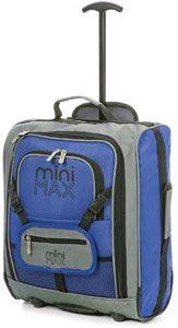 MiniMAX niños / Niños cabina de equipaje Carry On Maleta Trolley