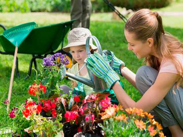 Libros de jardinería para niños