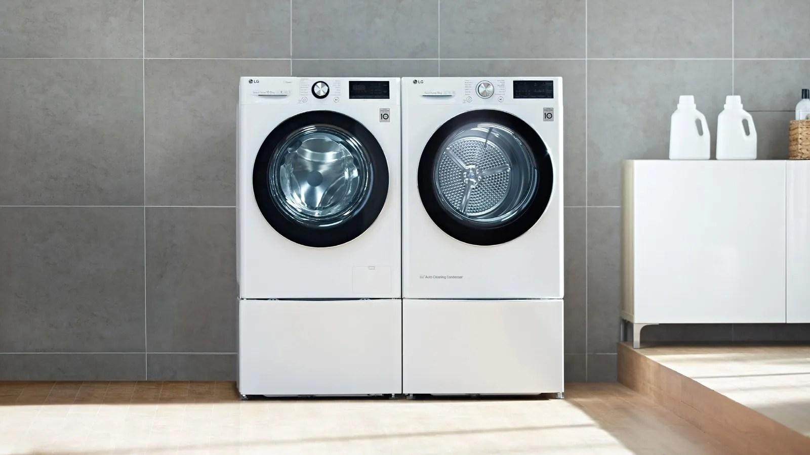 lavadora con vapor