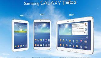 Gama de tablets Samsung