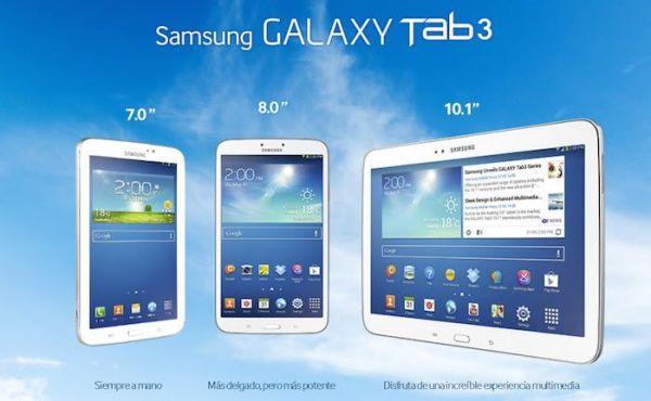 Tablets Samsung Galaxy Tab 3